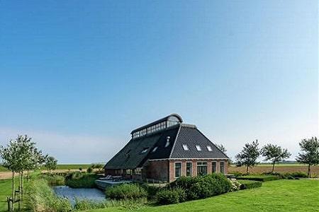 Groepsaccommodatie middenin de natuur, Friesland, 20 personen