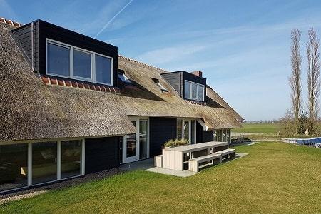 Groepshuis middenin de natuur, Friesland, 8 personen