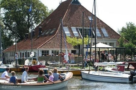 Groepsverblijf voor 28 personen middenin de Friese natuur