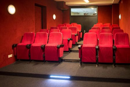 Groot vakantiehuis met eigen bioscoop