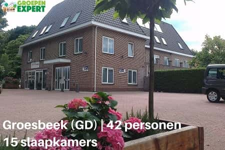 Groepsaccommodatie Groesbeek 42 personen