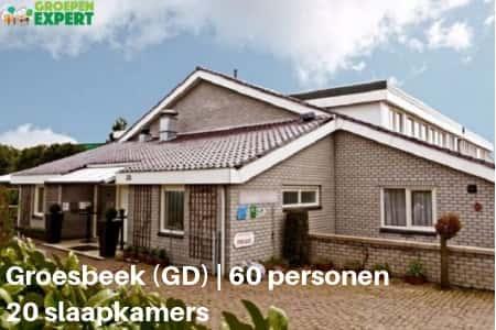 Groepsaccommodaties Groesbeek #4, voor 60 personen