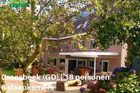 Groepsaccommodaties Groesbeek #5, voor 18 personen