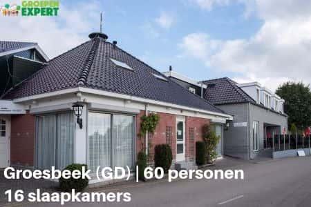 Groepsaccommodaties Groesbeek #8, voor 60 personen