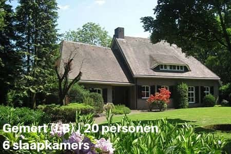 Groepsaccommodatie voor families van 20 personen, Gemert, Limburg
