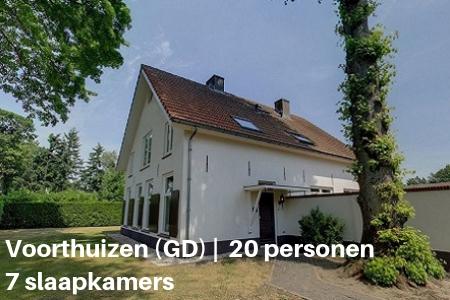 Groepsaccommodatie 20 personen, Voorthuizen, Gelderland, 7 slaapkamers