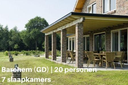 Groepsaccommodatie 20 personen Nederland