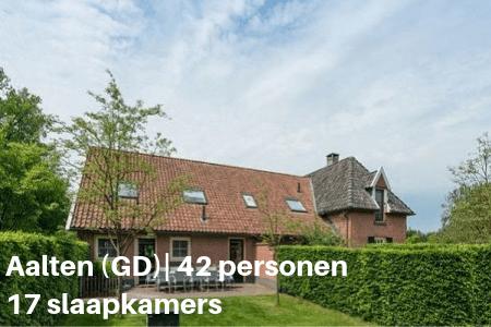 Groepsaccommodatie Aalten 42 personen