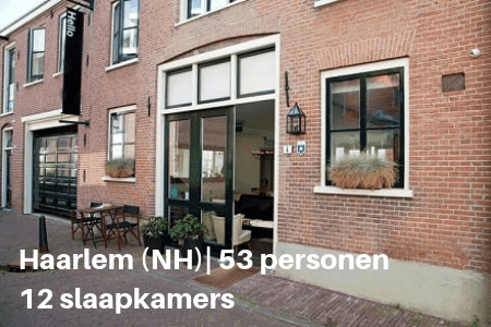 Groepsaccommodatie Haarlem 53 personen