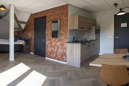 Comfort kamer keuken