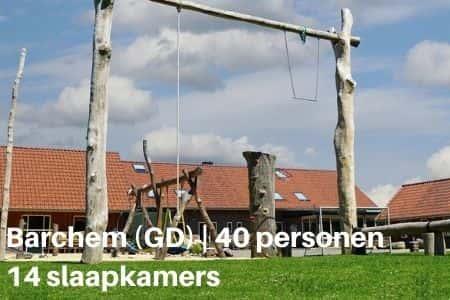 Groepsaccommodatie voor 40 personen in Barchem, Gelderland