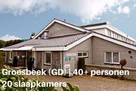 Vakantiehuis voor groepen van 40 personen en meer
