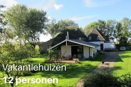 Grote vakantiehuizen in Nederland voor 12 personen