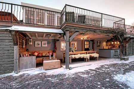Luxe accommodatie met 2 sauna's voor 8 personen in Brabant