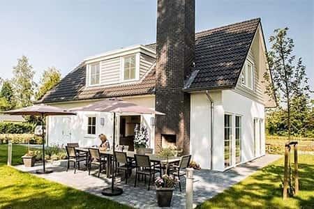 Luxe vakantiehuis voor 12 personen in Brabant