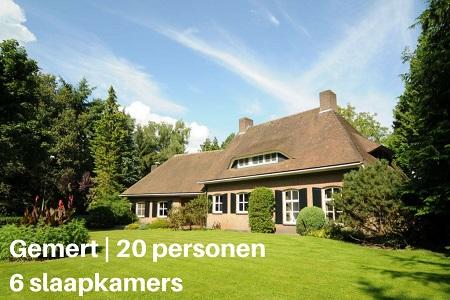 Groepsaccommodatie Landhuis de Berken, Brabant, Gemert, 20 personen, 6 slaapkamers