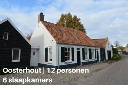 Groepsaccommodatie Vakantiehuis Het Hemels Helleke, Brabant, Oosterhout, 12 personen, 6 slaapkamers