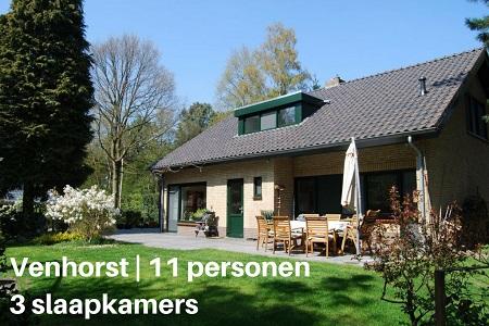 Groepsaccommodatie Villa Spankerbos, Brabant, Venhorst, 11 personen, 3 slaapkamers