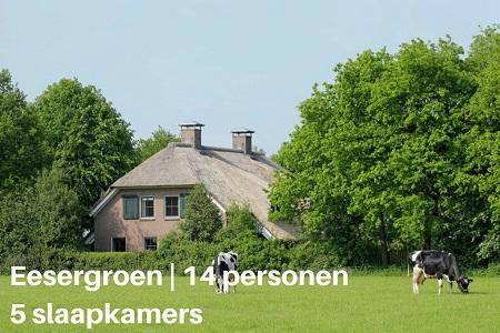 Groepsaccommodatie Villa Uitzicht, Drenthe, Eesergroen, 14 personen, 5 slaapkamers
