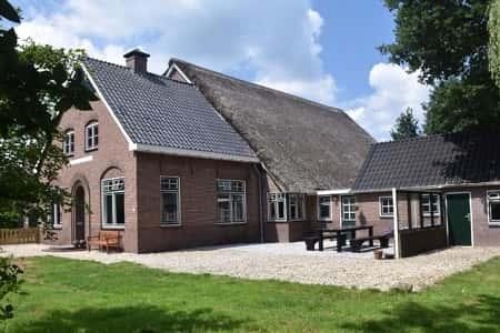 Groot vakantiehuis voor 10 personen in Drijber, Drenthe