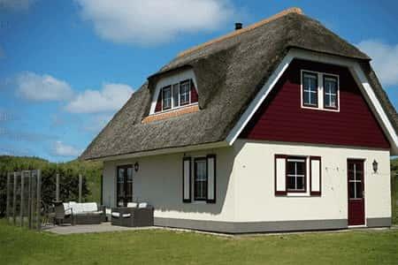 Vakantiehuis met 4 slaapkamers in Hollum