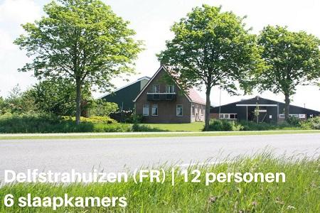 12 persoons vakantiehuis in Friesland