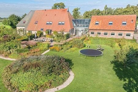 Groepsaccommodatie in Gorredijk, Friesland, 20 personen