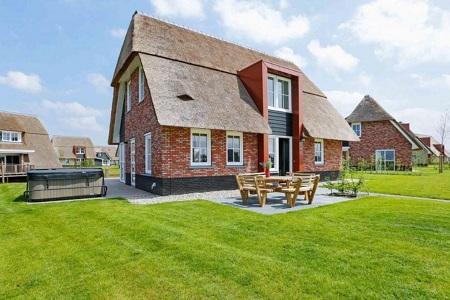 Grote villa voor 10 personen, Tjeukemeer Friesland