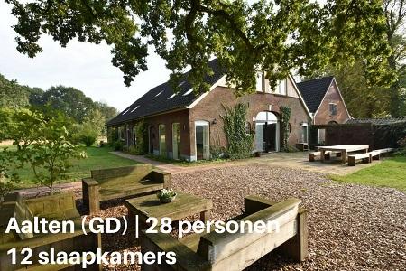 groepsaccommodatie boerderij drenthelschoppe gelderland aalten 28 personen 12 slaapkamers