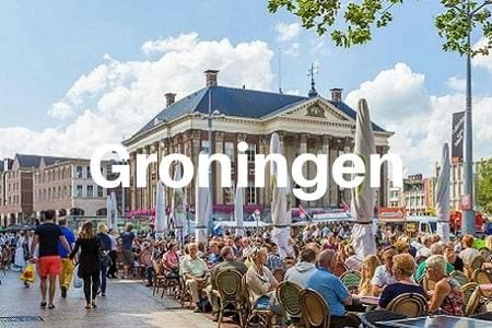 Groepsaccommodaties Groningen