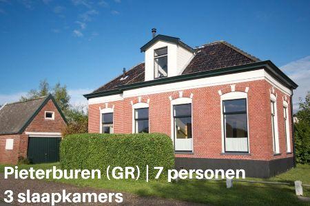 Groepsaccommodatie Vakantiehuis Het Wad, Groningen, Pieterburen, 7 personen, 3 slaapkamers