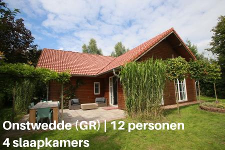 Groepsaccommodatie Vakantiehuis Vakantiepark De Sikkenberg 3, Groningen, Onstwedde, 12 personen, 4 slaapkamers