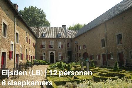 Vakantiehuis voor 12 personen in Eijsden, Limburg