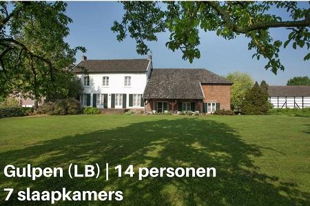 Groepsaccommodatie Boerderij Hoeve De Woskoul, Limburg, Gulpen, 14 personen, 7 slaapkamers