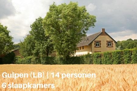 Groepsaccommodatie Boerderij Hoeve In Gunne Winkel, Limburg, Gulpen, 14 personen, 6 slaapkamers