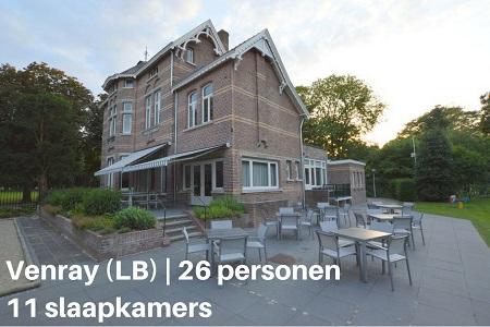 Groepsaccommodatie Villa Venray, Limburg, Venray, 26 personen, 11 slaapkamers