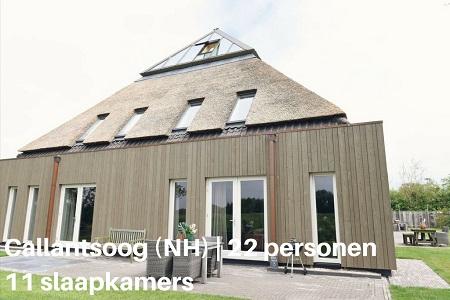 Groepsaccommodatie Hoeve Landzicht, Noord Holland, Callantsoog, 22 personen, 11 slaapkamers