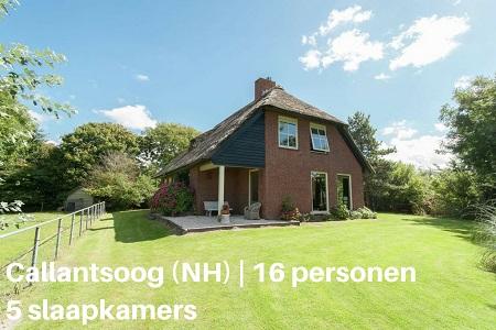 Groepsaccommodatie Landhuis Duinzicht, Noord Holland, Callantsoog, 16 personen, 5 slaapkamers