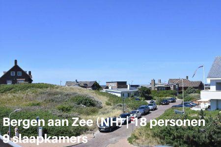 Groepsaccommodatie Vakantiehuis Familyhouse Near The Sea, Noord Holland, Bergen aan Zee, 18 personen, 9 slaapkame