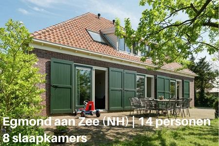 Groepsaccommodatie Vakantiehuis Van Vuure, Noord Holland, Zuidoostbeemster, 14 personen, 5 slaapkamers