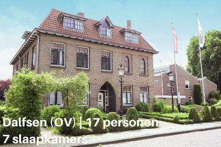 Groepsaccommodatie Appartement Het Klooster Van Dalfsen, Overijssel, Dalfsen, 17 personen, 7 slaapkamers
