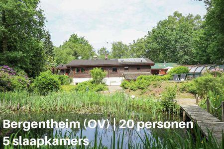 Groepsaccommodatie Vakantiehuis Jachthut T'Hihgend Hert, Overijssel, Bergentheim, 20 personen, 5 slaapkamers