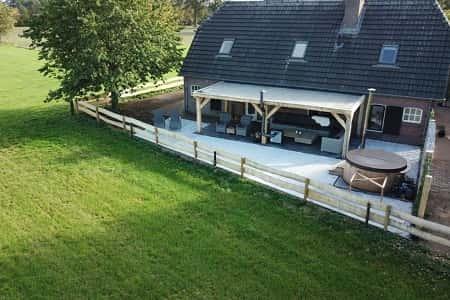 Groot vakantiehuis voor 10 personen in Overijssel