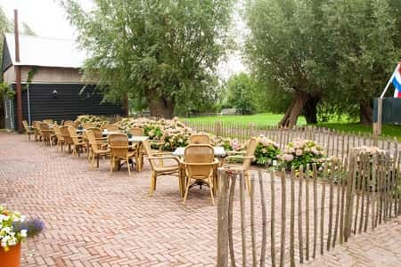 Natuurhuis voor groepen van 24 personen in Vreeland