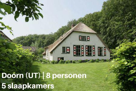 Groepsaccommodatie Boederij Hofstede Groot Blankenstein, Utrecht, Doorn, 8 personen, 5 slaapkamers