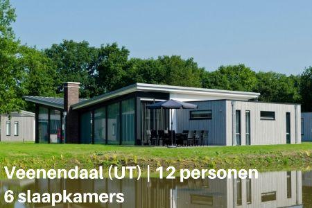 Groepsaccommodatie Landal Amerongse Berg, Utrecht, Overberg, 12 personen, 6 slaapkamers