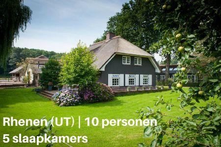 Groepsaccommodatie Villa Landhuis Kwintelooijen, Utrecht, Rhenen, 10 personen, 5 slaapkamers