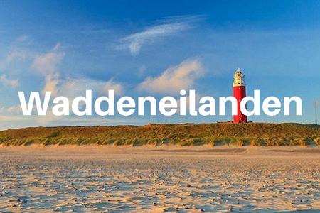 Groepsaccommodatie Nederland, Waddeneilanden