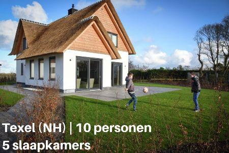 Groepsaccommodatie Villa 't Hoogelandt 3, Waddeneilanden, Texel, De Koog, 10 personen, 5 slaapkamers