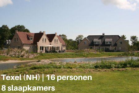 Groepsaccommodatie Villa De Krim Texel 6, Waddeneilanden, Texel, De Cocksdorp, 16 personen, 8 slaapkamers